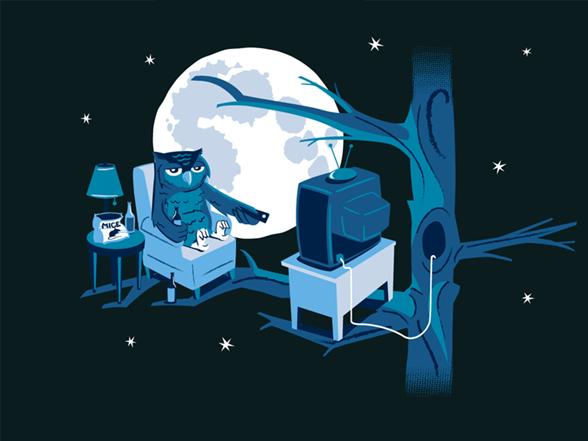 Night Owl T Shirt