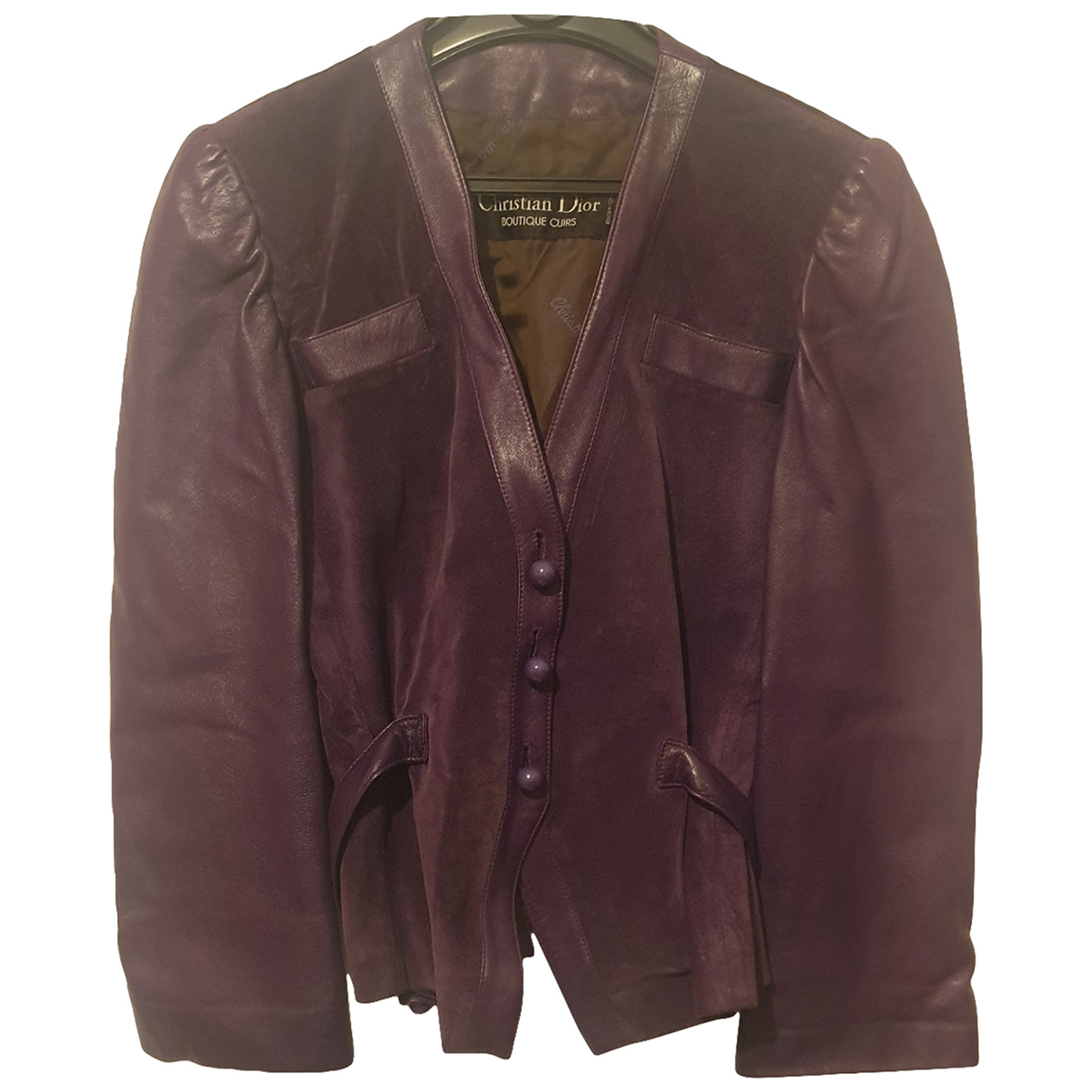 Dior \N Purple Velvet jacket for Women 38 FR