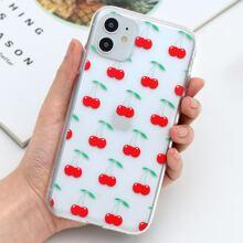 Cherry Print iPhone Case