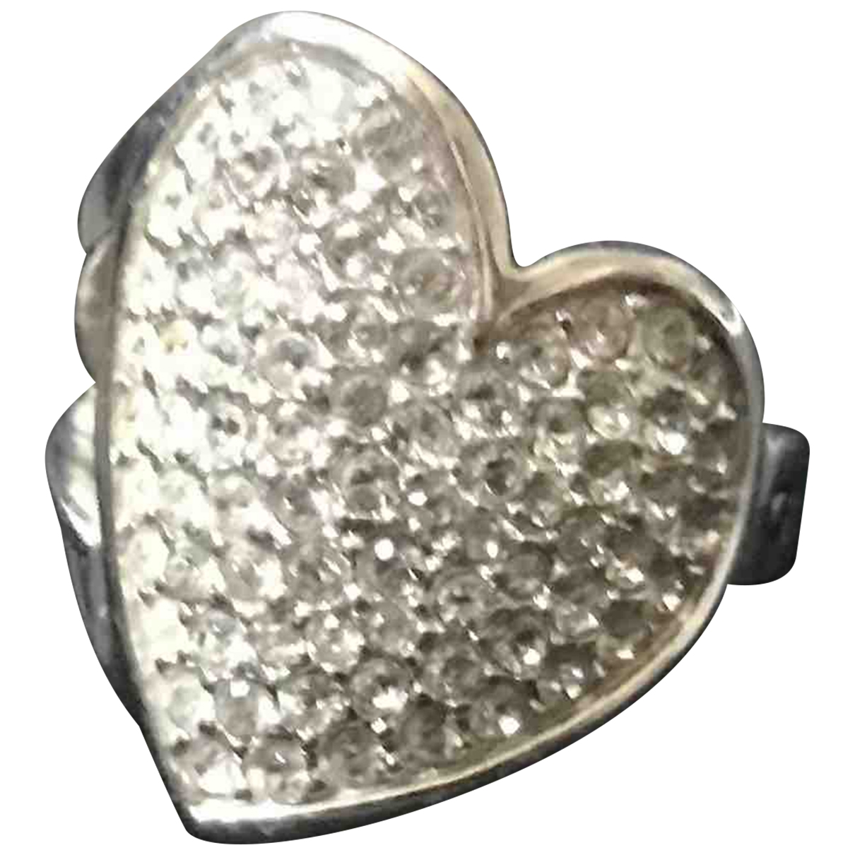Guess \N Silver Metal ring for Women \N