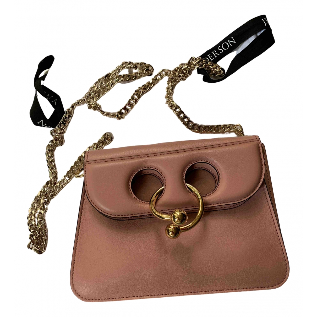 J.w. Anderson Pierce Pink Leather handbag for Women \N
