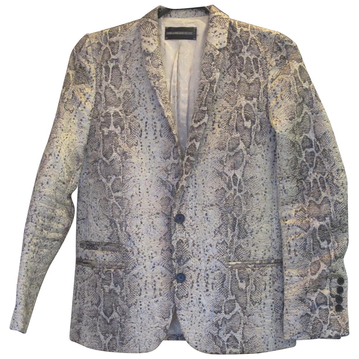 Zadig & Voltaire - Veste   pour femme en coton - gris