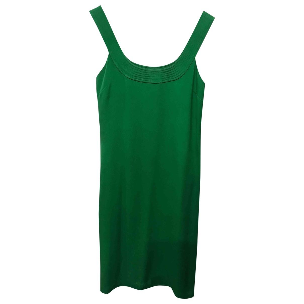 Lauren Ralph Lauren \N Green Silk dress for Women 4 UK
