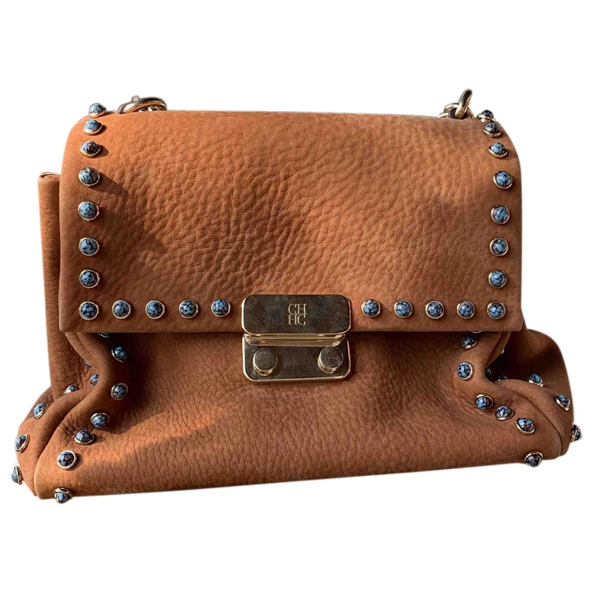 Carolina Herrera \N Camel Fur Clutch bag for Women \N