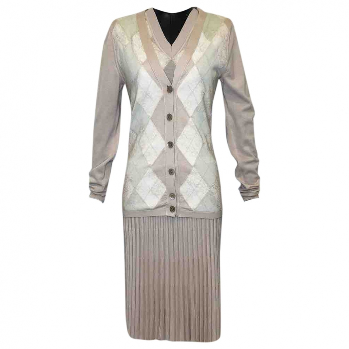 Valentino Garavani \N Pullover in  Rosa Wolle