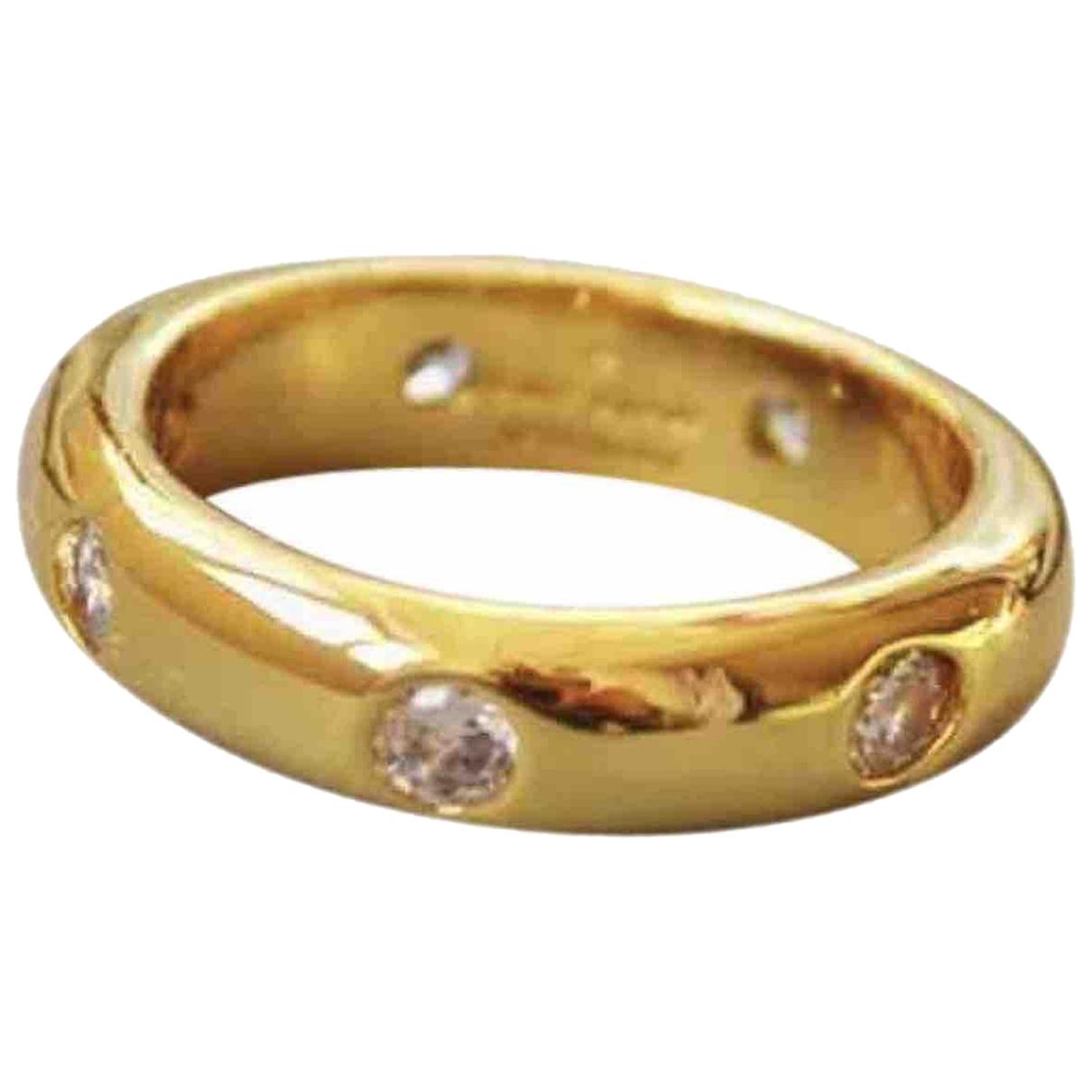 - Bague Alliance pour femme en plaque or - dore