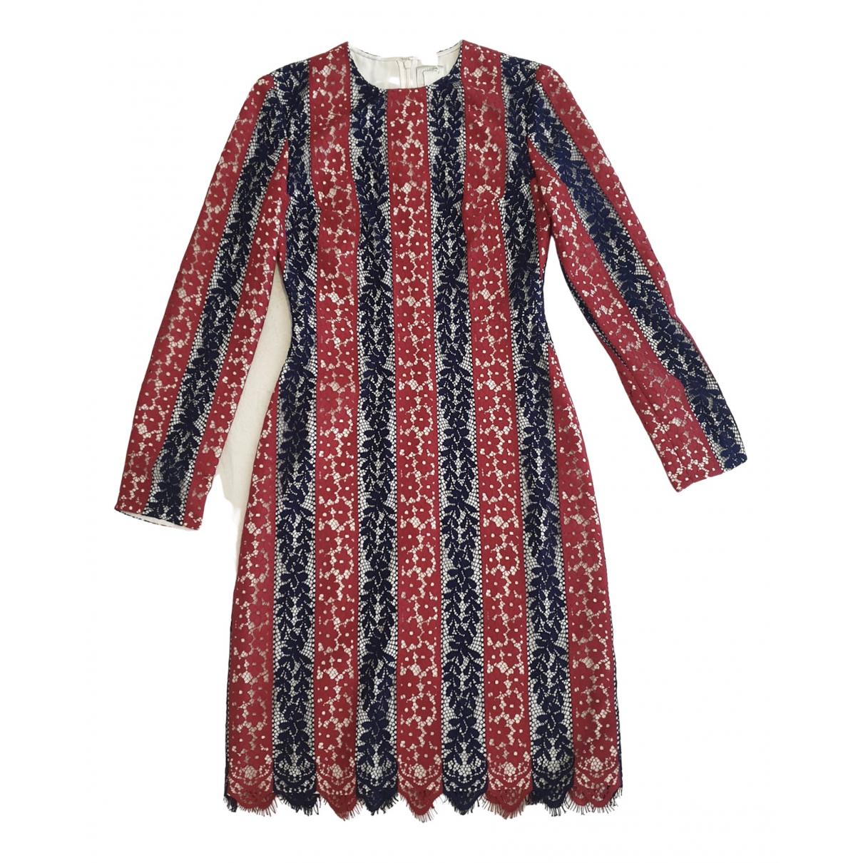 Huishan Zhang \N Kleid in  Bunt Synthetik