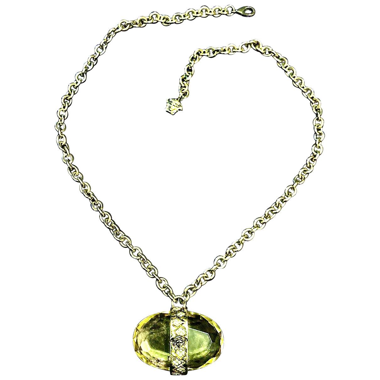 Versace - Collier Medusa pour femme en acier - dore