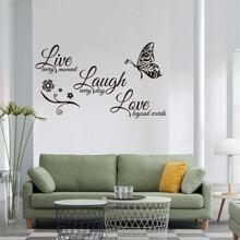 Pegatina de pared con estampado