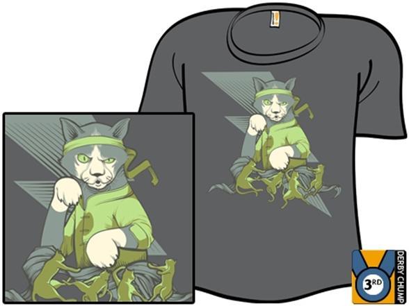 Cat-fu T Shirt