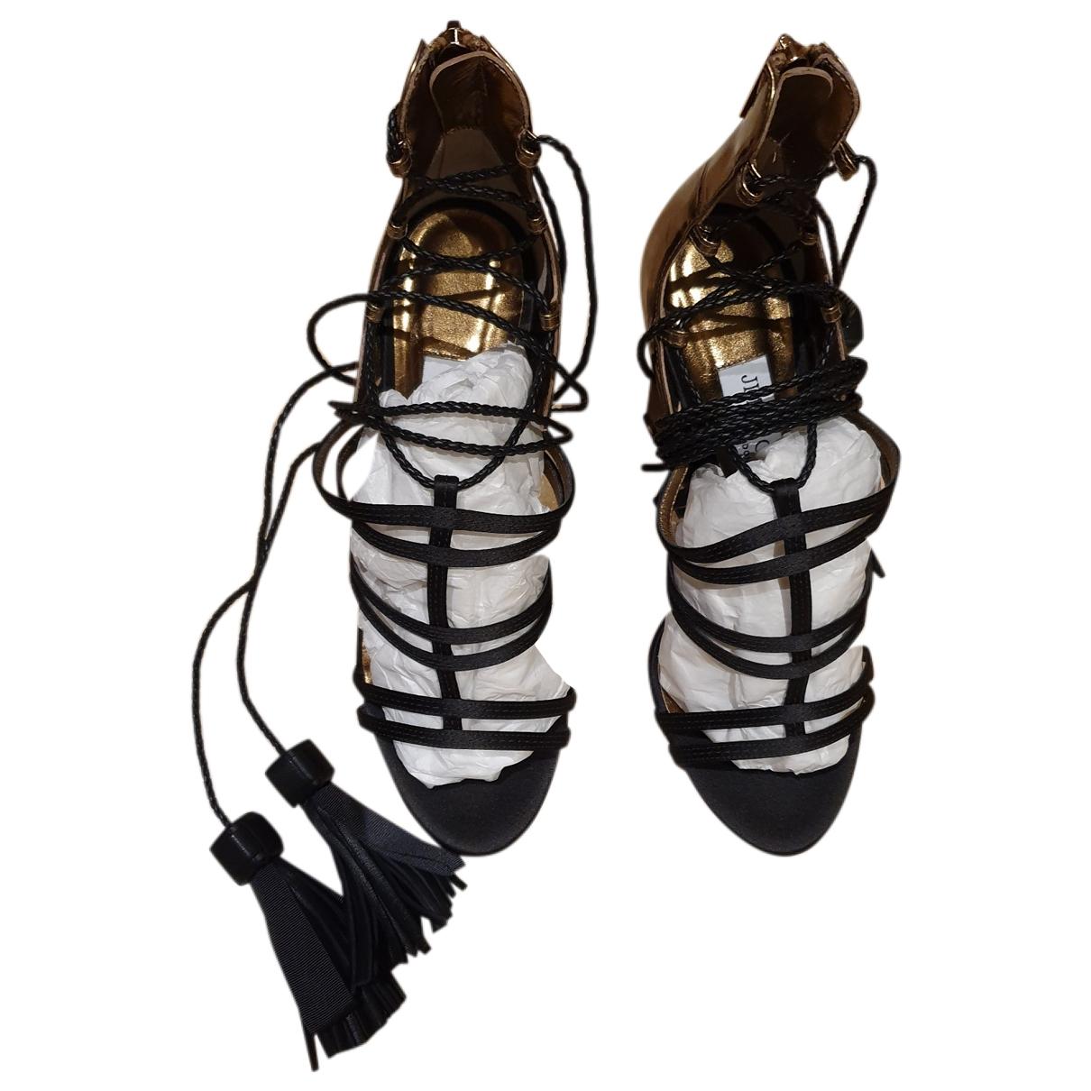 Sandalias romanas de Cuero Jimmy Choo
