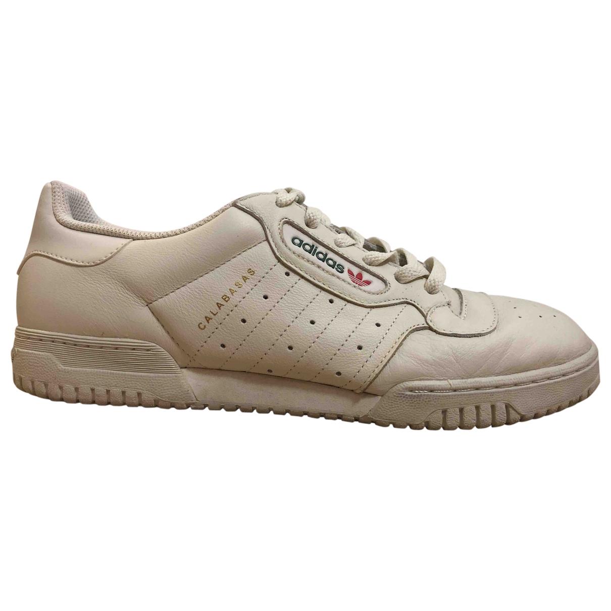 Yeezy X Adidas \N Sneakers in  Beige Leder