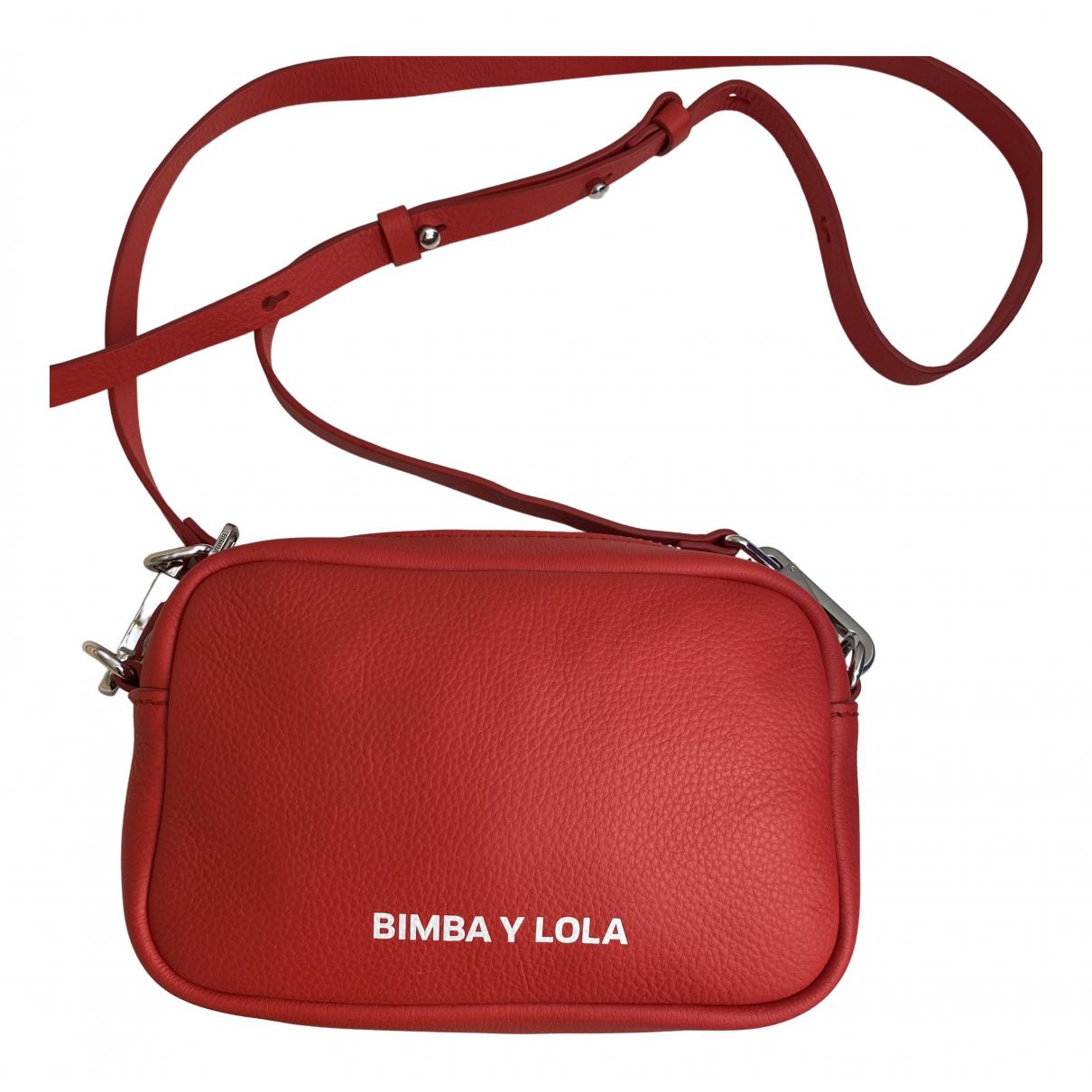 Bimba Y Lola - Sac a main   pour femme en cuir - rouge