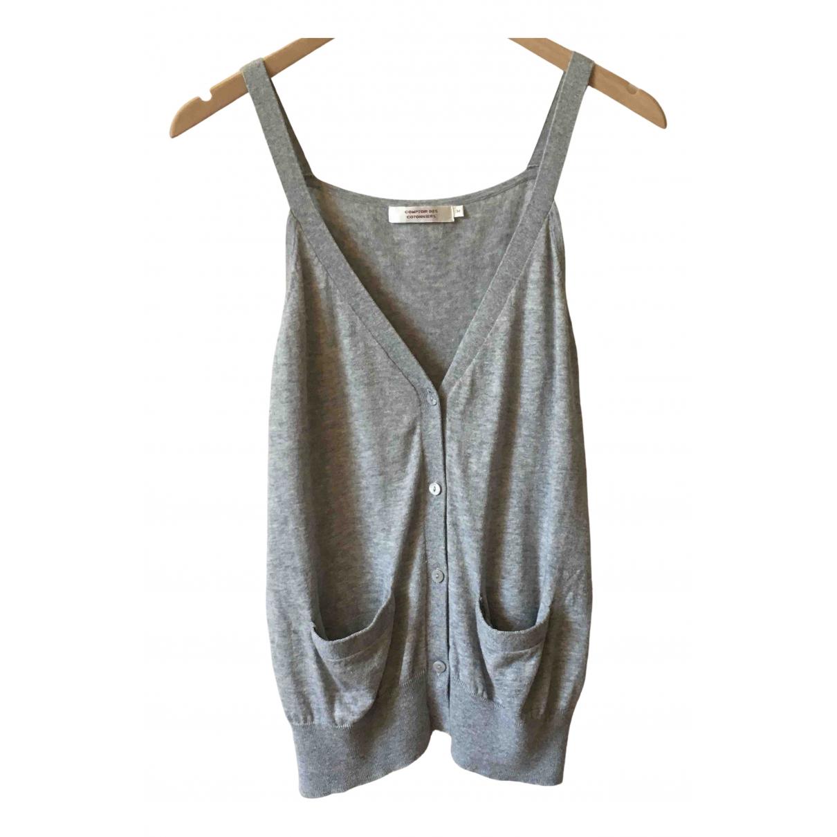 Comptoir Des Cotonniers \N Pullover in  Grau Baumwolle