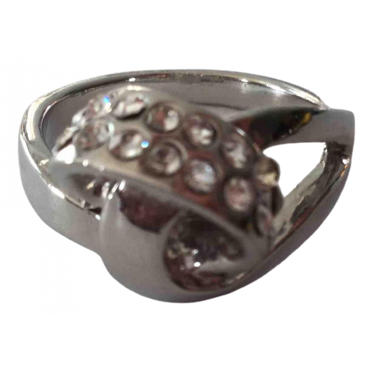 Non Signé / Unsigned \N Silver Metal ring for Women 58 EU
