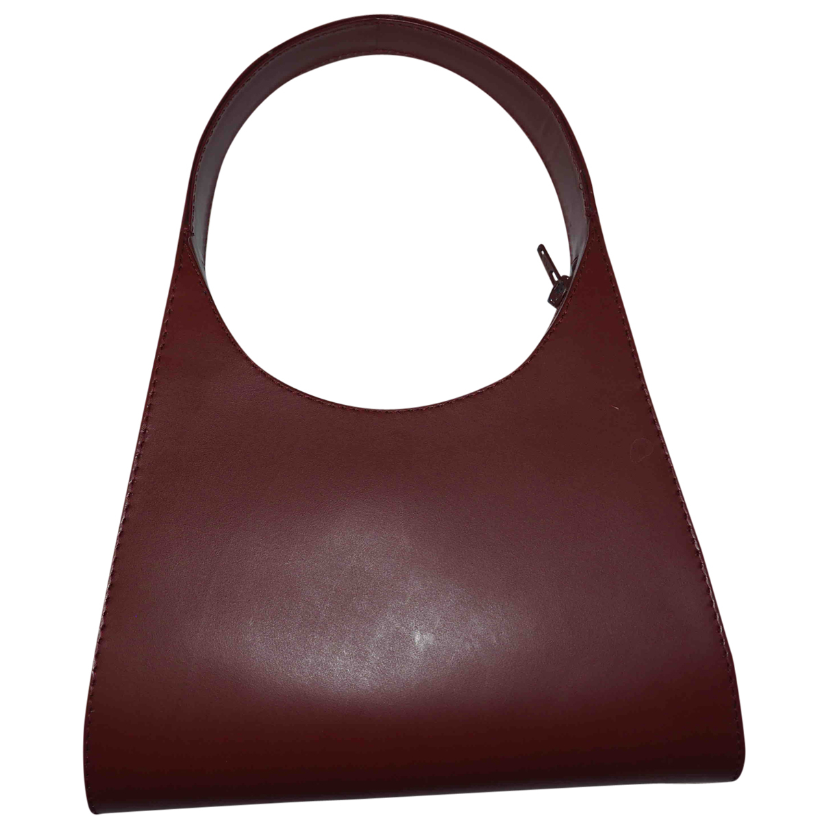 Non Signé / Unsigned \N Red Leather handbag for Women \N