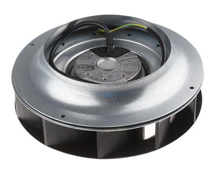 ebm-papst Centrifugal Fan, 825m³/h, 230 V ac AC (R2E225 Series)
