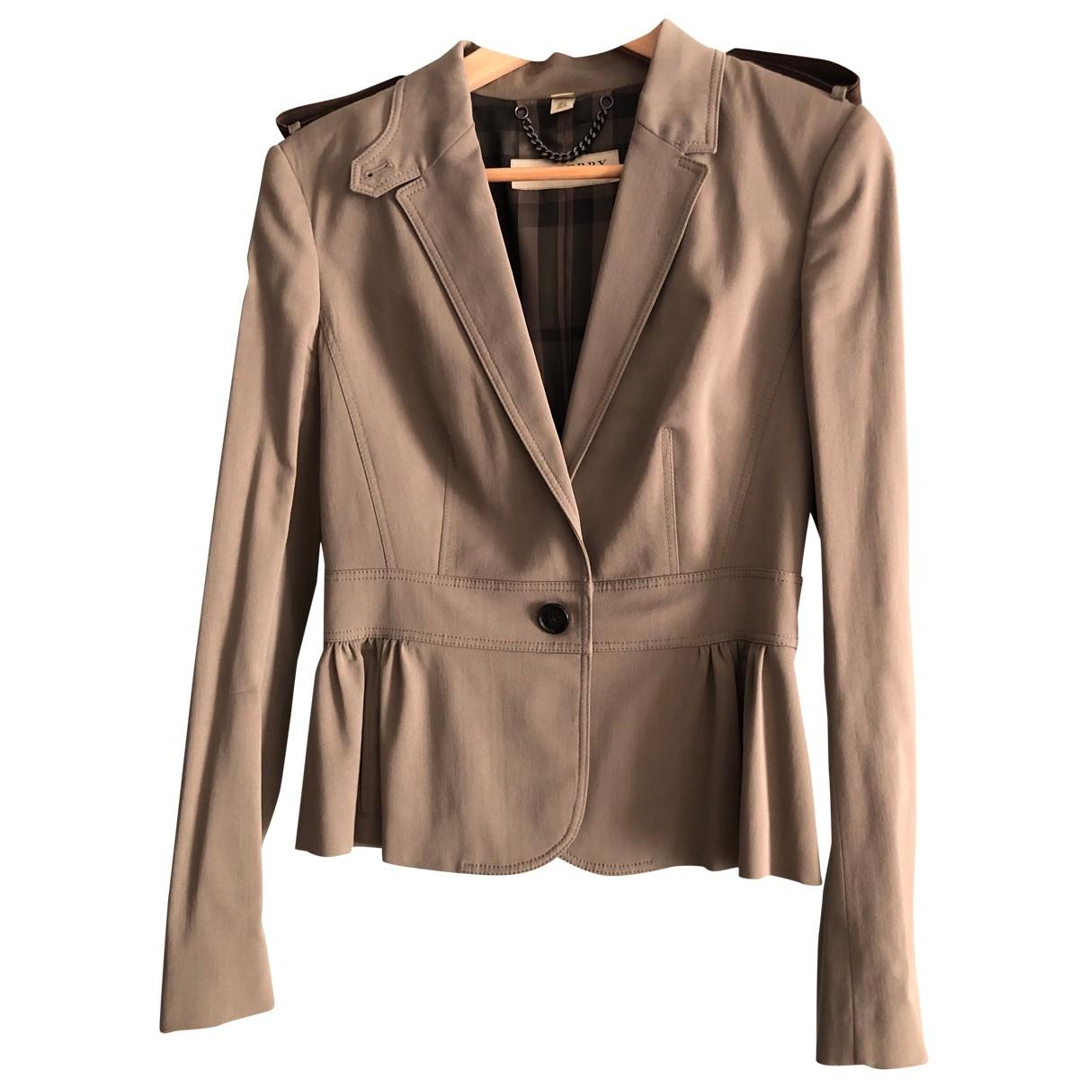 Burberry \N Beige jacket for Women 8 UK