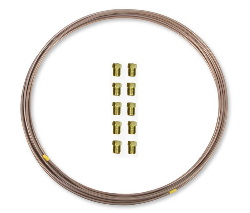 Earl's Performance NC6516KERL 5/16 IN X 25 FT COIL&FITTING KIT EZFORM