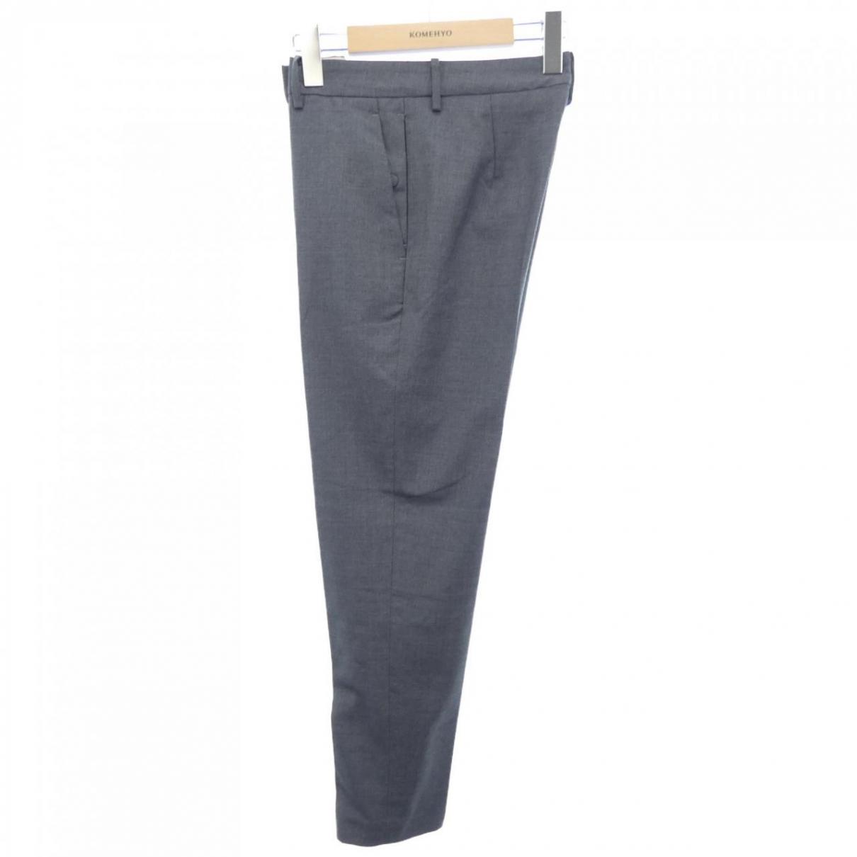 N°21 \N Grey Cloth Trousers for Women 38 IT