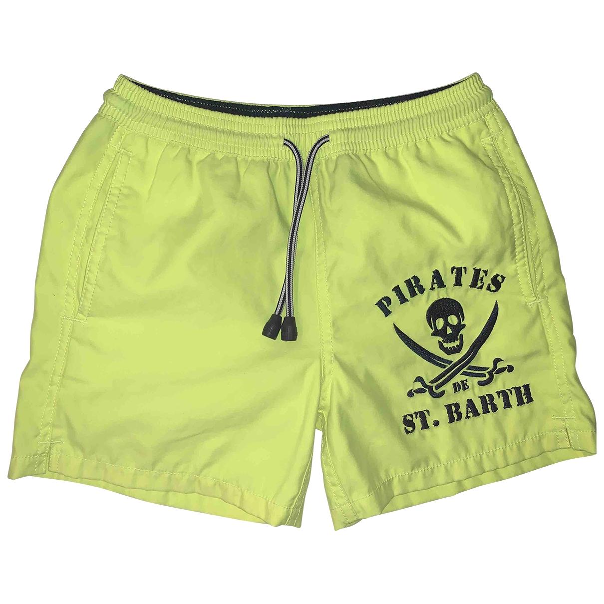 Mc2 Saint Barth - Short   pour enfant - jaune