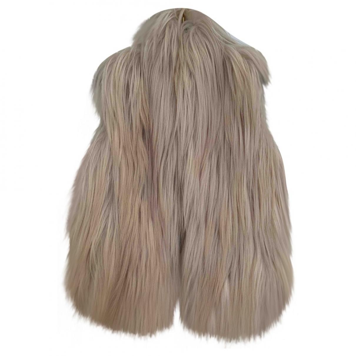 Maison Martin Margiela \N Beige Fur jacket for Women 1 0-5