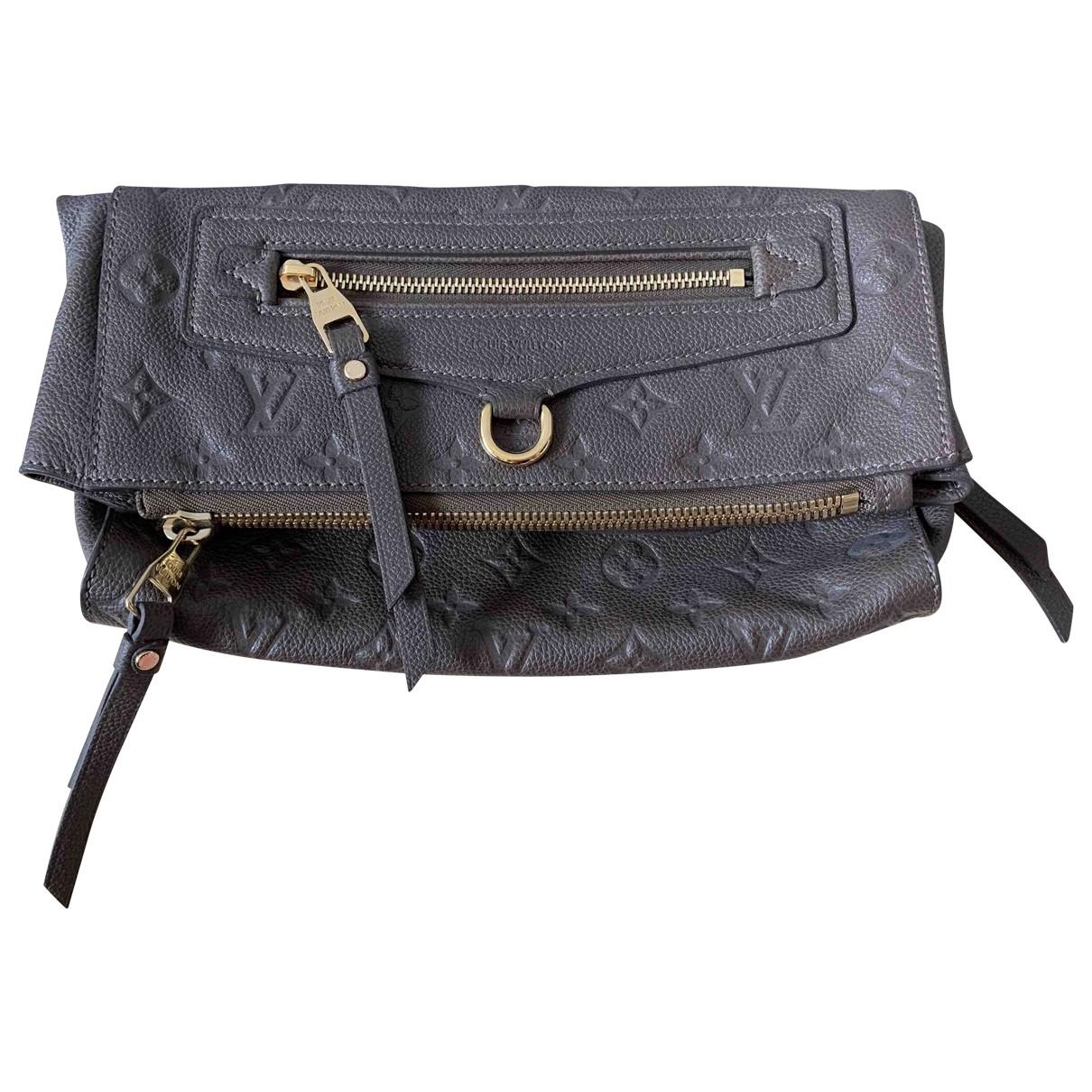 Louis Vuitton - Pochette Petillante pour femme en cuir - marron