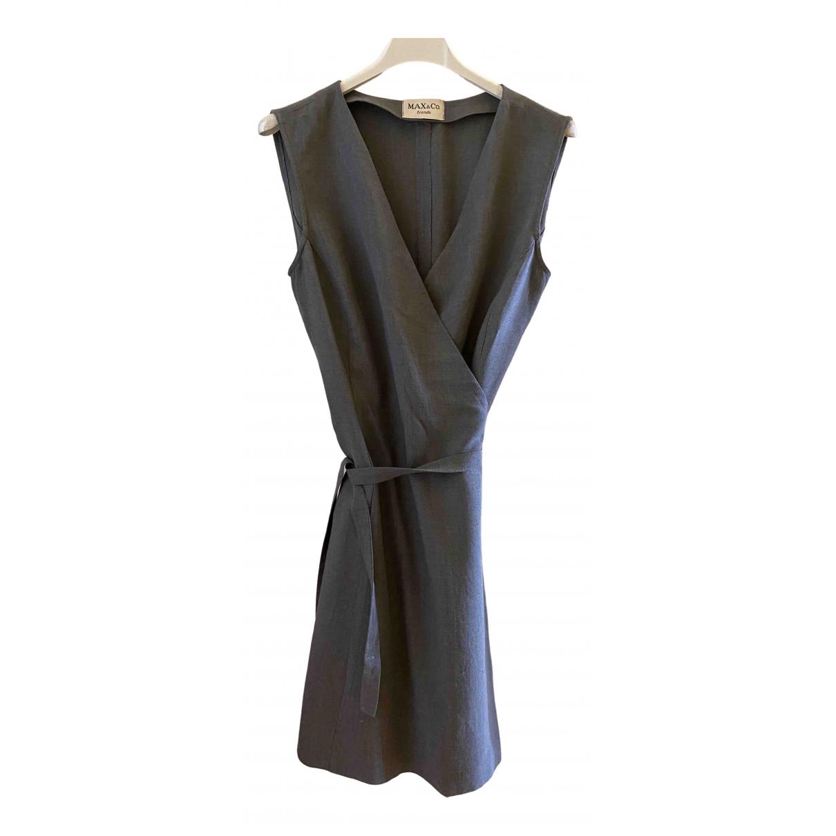 Max & Co \N Kleid in  Grau Wolle