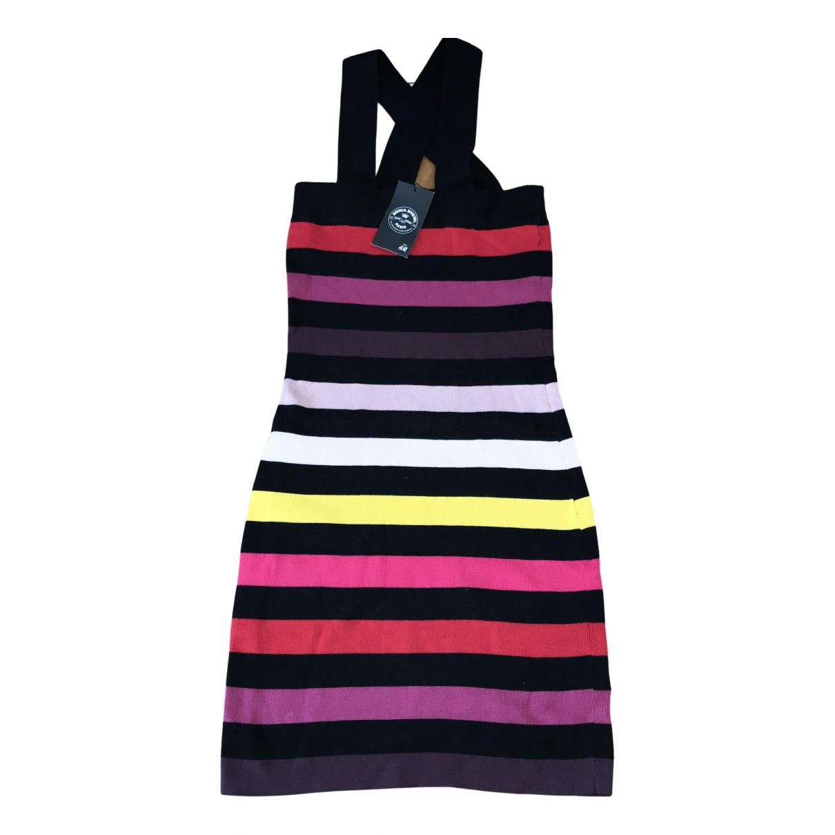 Sonia Rykiel Pour H&m \N Kleid in  Bunt Baumwolle