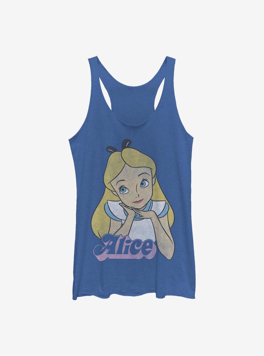 Disney Alice In Wonderland Big Alice Womens Tank Top