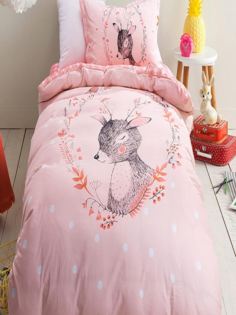 Vivilinen Deer Pattern 3-Piece Kids Duvet Covers/Bedding Sets