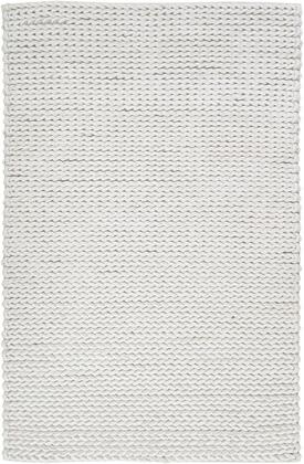 Anchorage Collection ANC1000-811 Rectangle 8' x 11' Area Rug  Hand Woven with Wool Material in Neutral