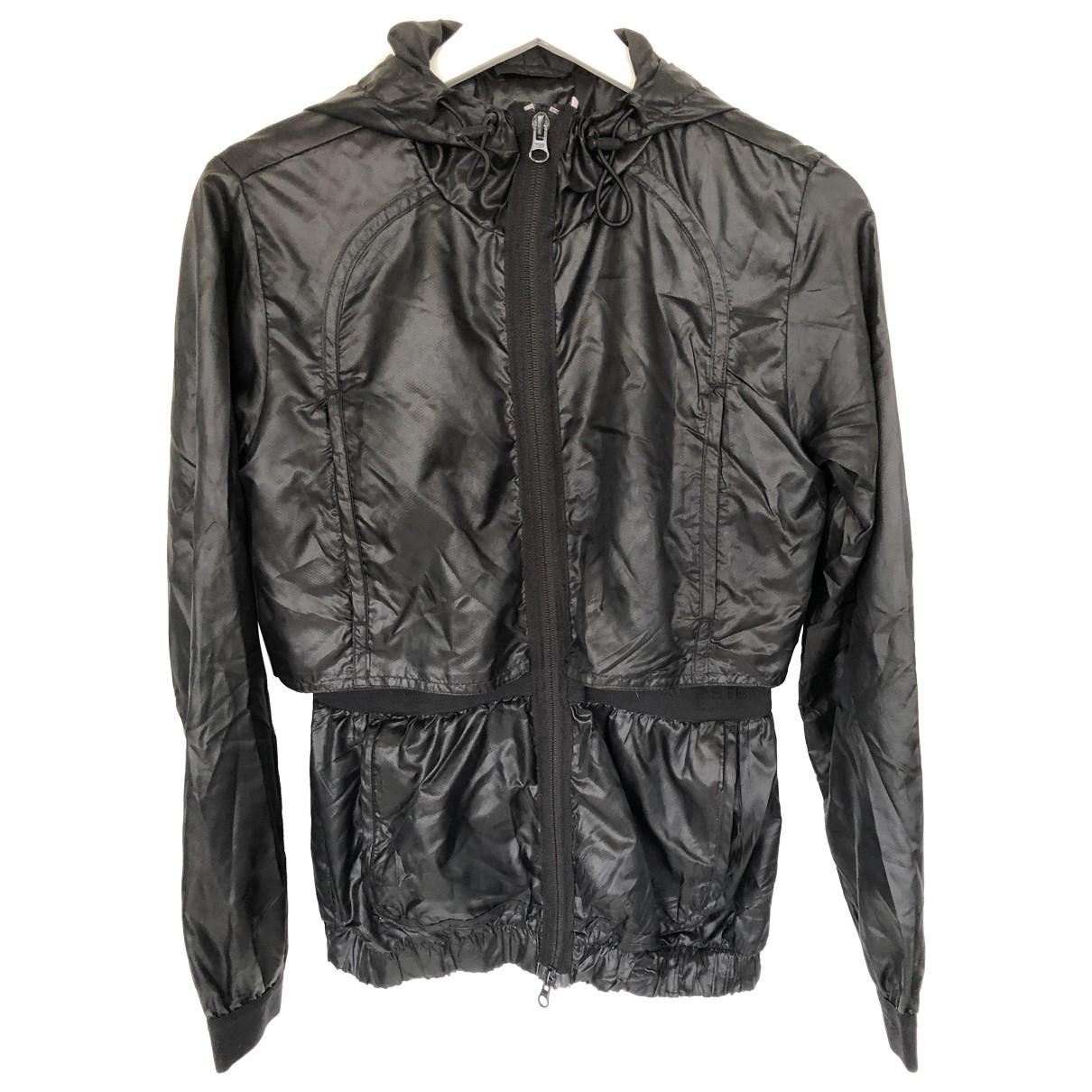 Stella Mccartney Pour Adidas \N Jacke in  Schwarz Synthetik