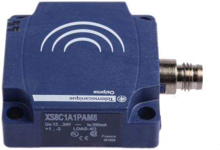 Telemecanique Sensors Inductive Sensor - Block, PNP-NO Output, 25 mm Detection, IP67, M8 - 3 Pin Terminal