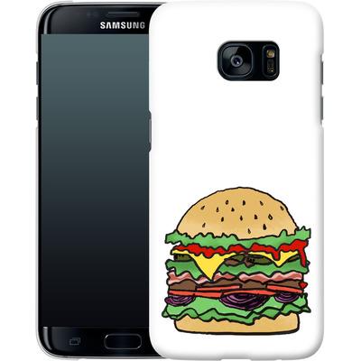 Samsung Galaxy S7 Edge Smartphone Huelle - Burger  von caseable Designs