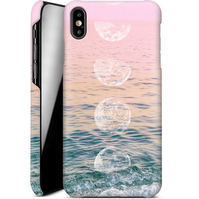 Apple iPhone XS Max Smartphone Huelle - Moontime Beach von Emanuela Carratoni