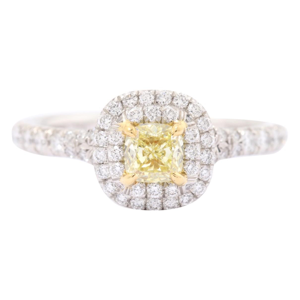 Tiffany & Co Tiffany Soleste Ring in  Gold Platin