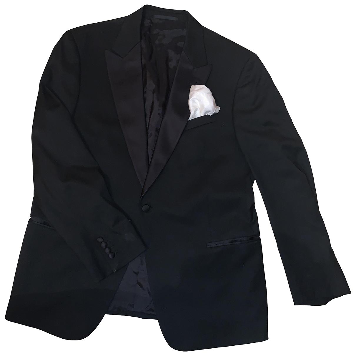 Armani Collezioni - Costumes   pour homme - noir