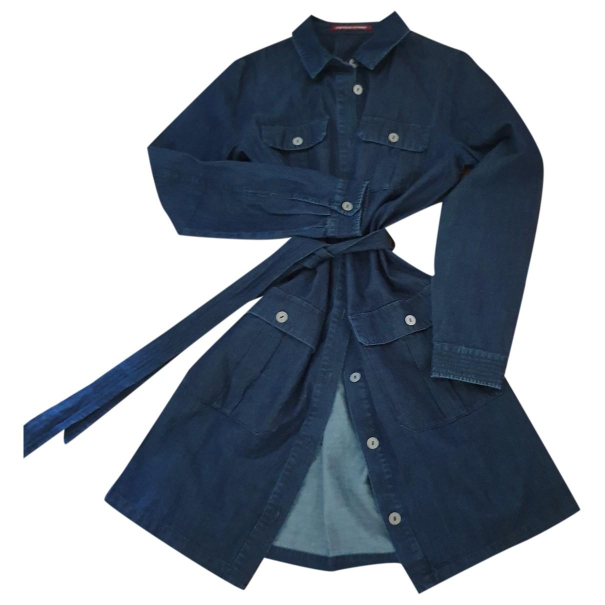 Comptoir Des Cotonniers \N Kleid in  Marine Baumwolle