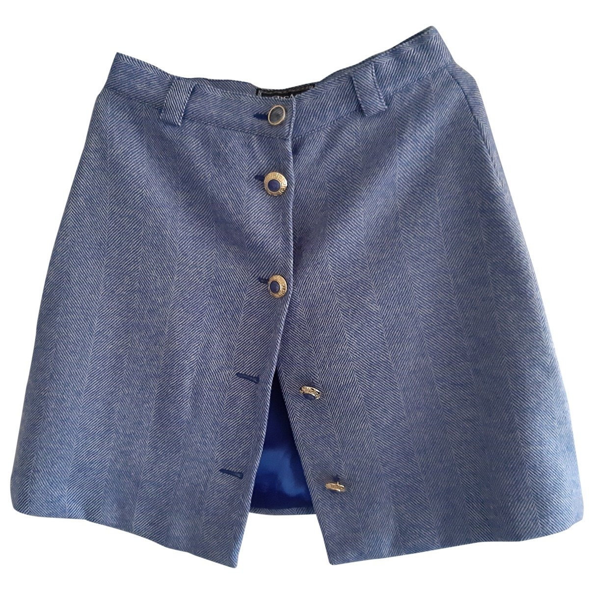 Mini falda de Lana Versace Jeans
