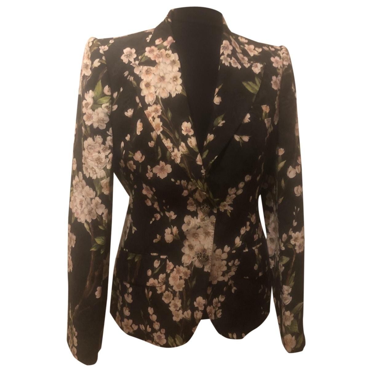 Dolce & Gabbana \N Multicolour Cotton jacket for Women 44 IT