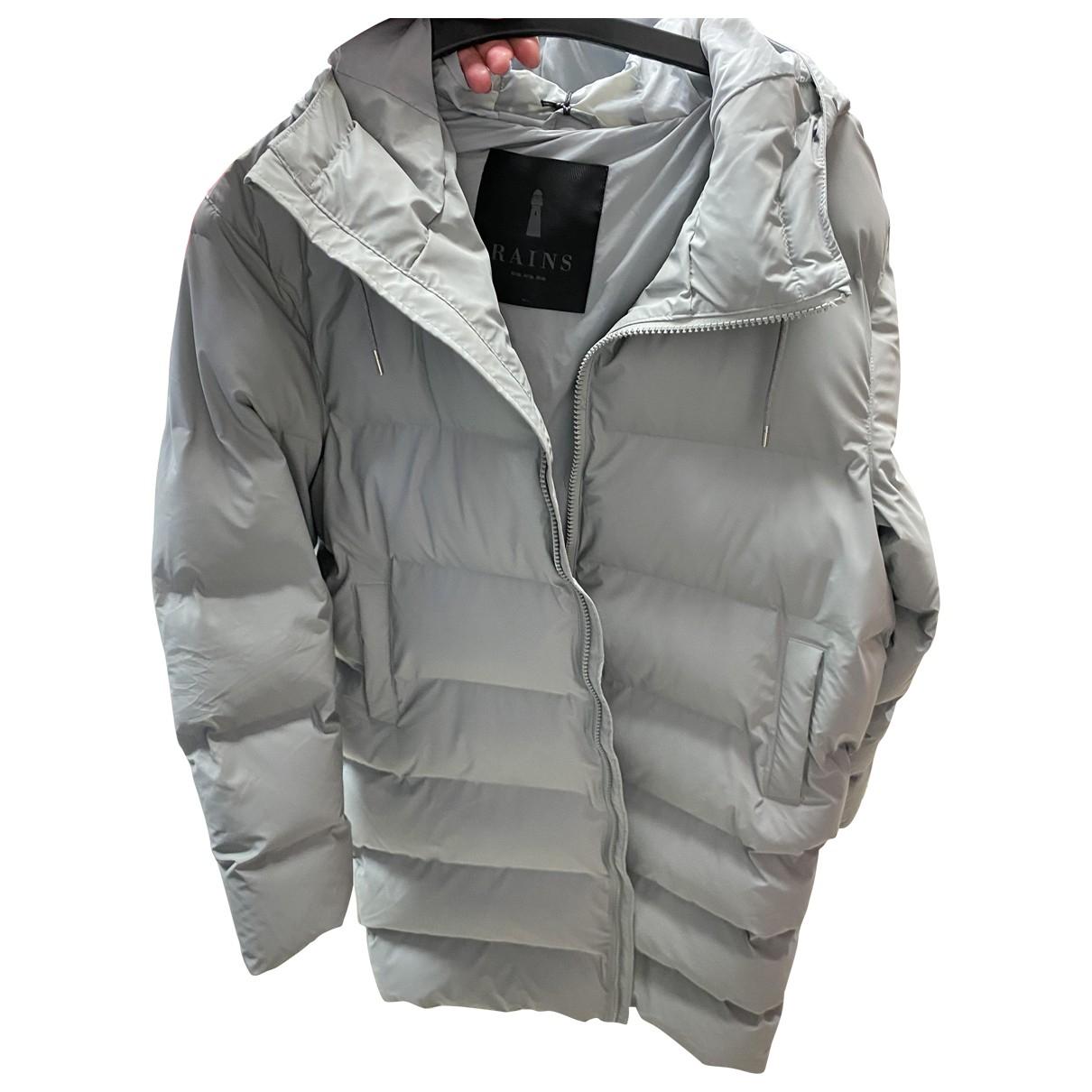 Rains \N Maentel in  Grau Polyester