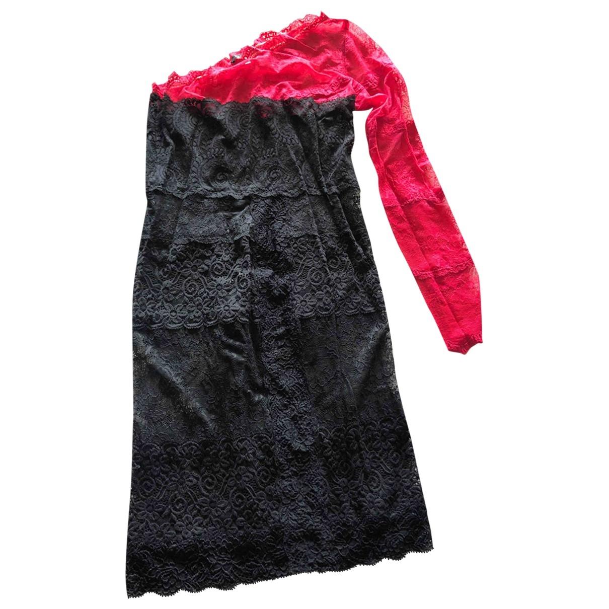 Pinko \N Kleid in  Schwarz Spitze