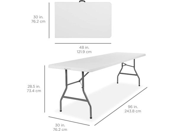 Folding Table White (4,6, Or 8 Foot)