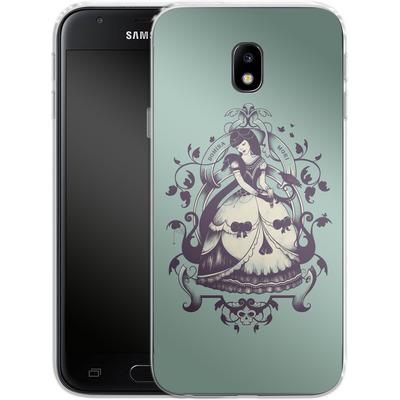 Samsung Galaxy J3 (2017) Silikon Handyhuelle - Mrs Death von Enkel Dika