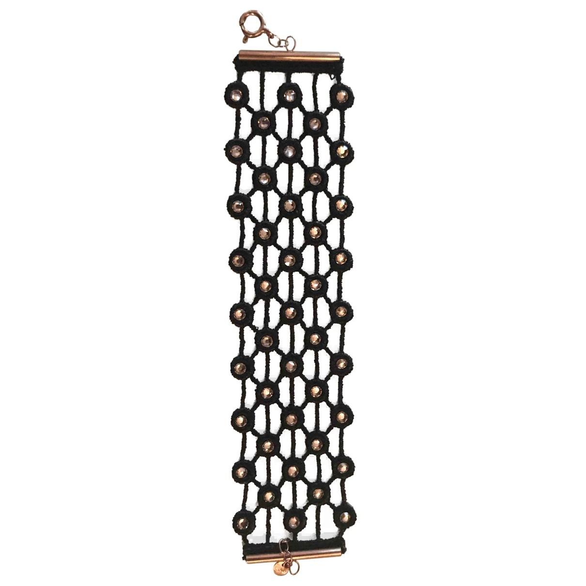 Cruciani - Bracelet   pour femme en toile - noir