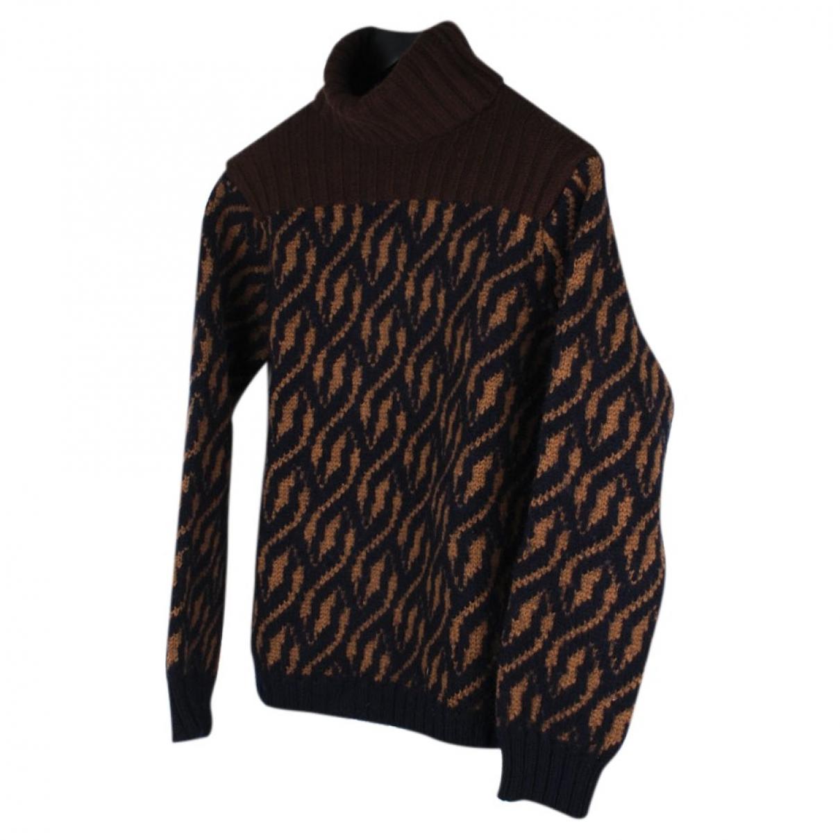 Dries Van Noten \N Pullover.Westen.Sweatshirts  in  Bunt Wolle
