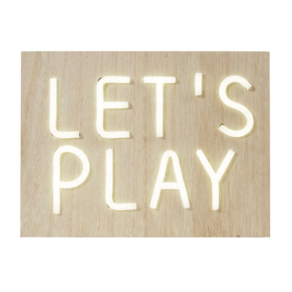 Leuchtdeko Lets play