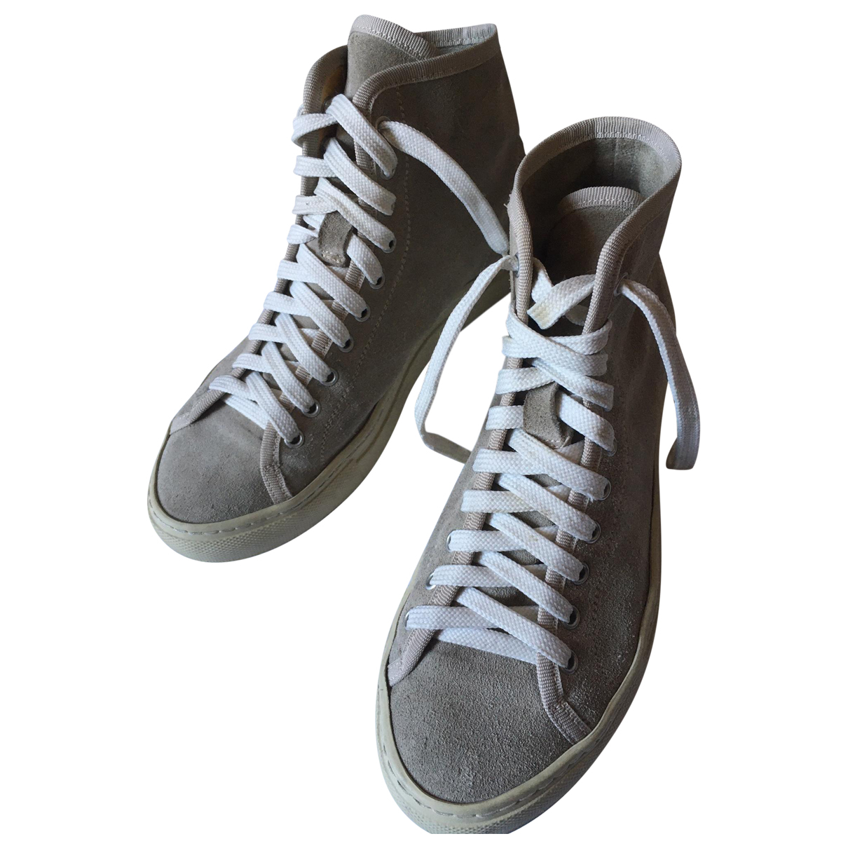 Common Projects \N Grey Suede Trainers for Women 38 EU