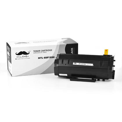 Compatible Lexmark 601X 60F1X00 Black Toner Cartridge Extra High Yield - Moustache@